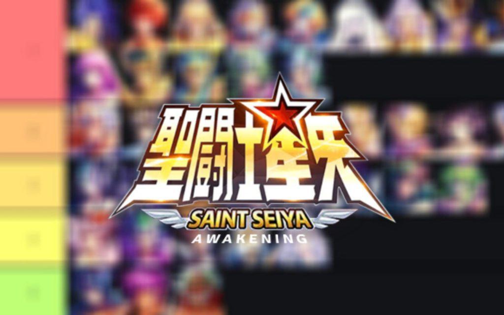 Tier List PVP PVE Saint Seiya Awakening (KOTZ)