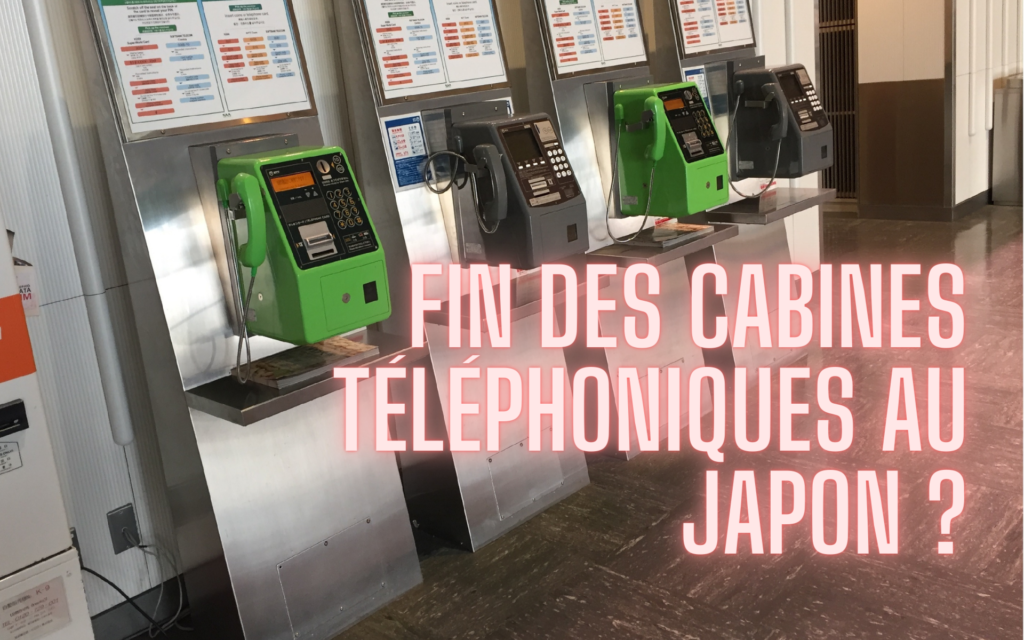 cabines téléphoniques du japon