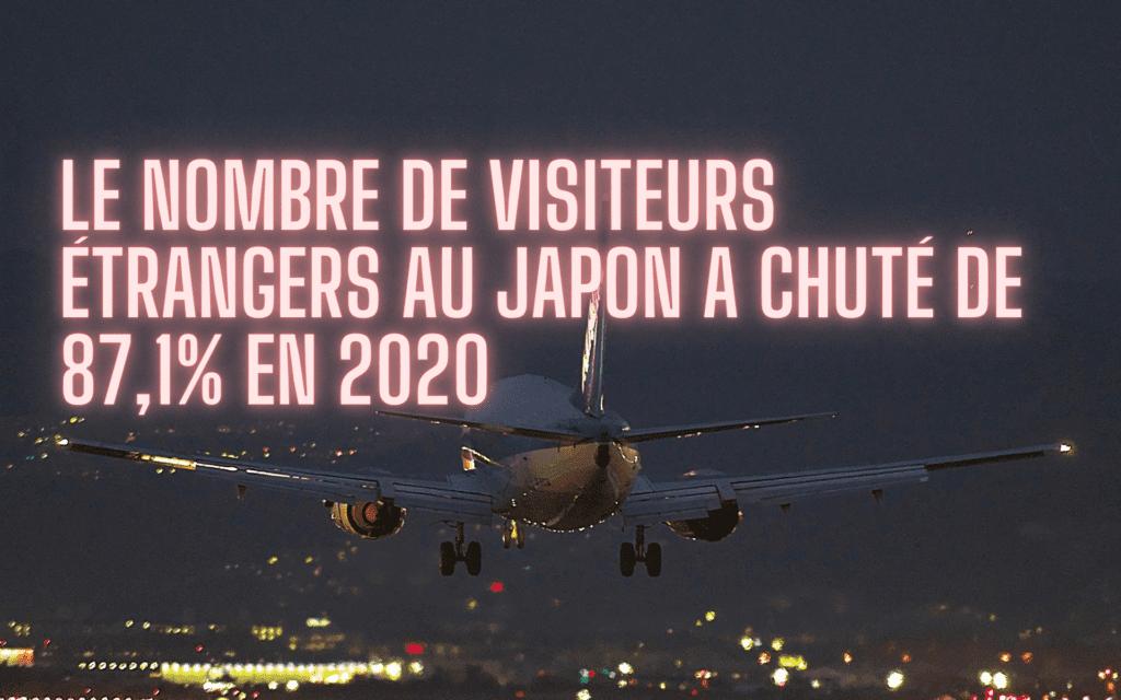 nombre de visiteurs étrangers au Japon 2020