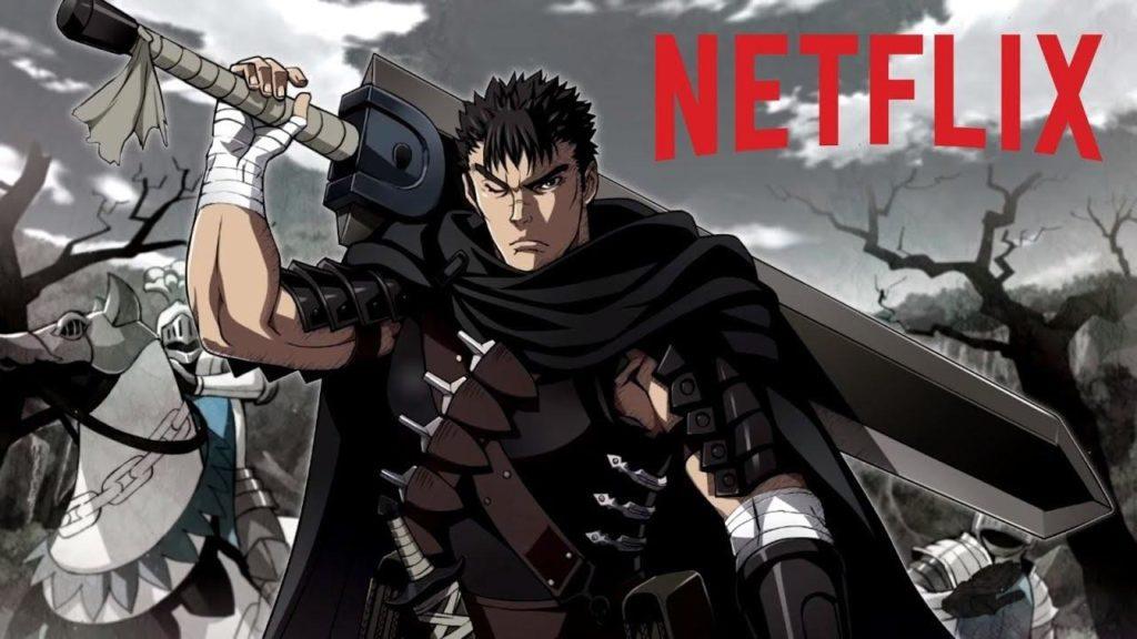 Liste épisodes Berserk Netflix