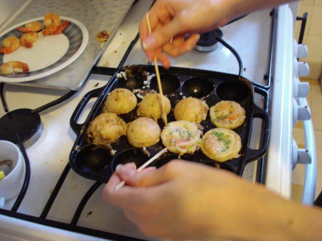 Machine à takoyaki