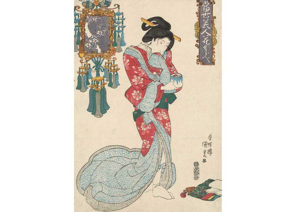Utagawa Kunisada encens