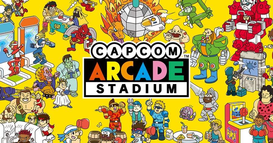 capcom arcade stadium gratuit