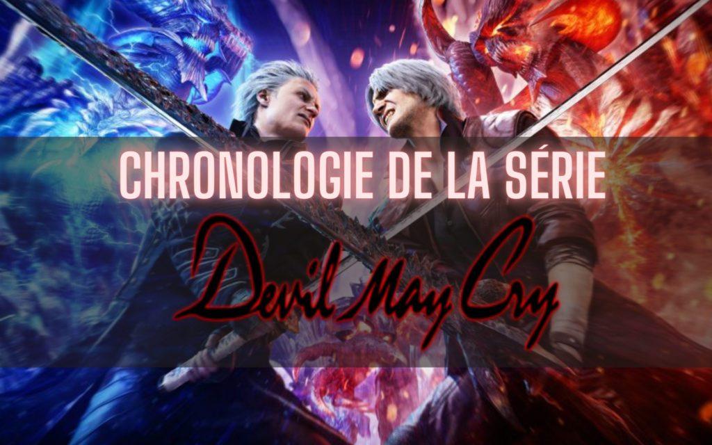 Chronologie série Devil May Cry