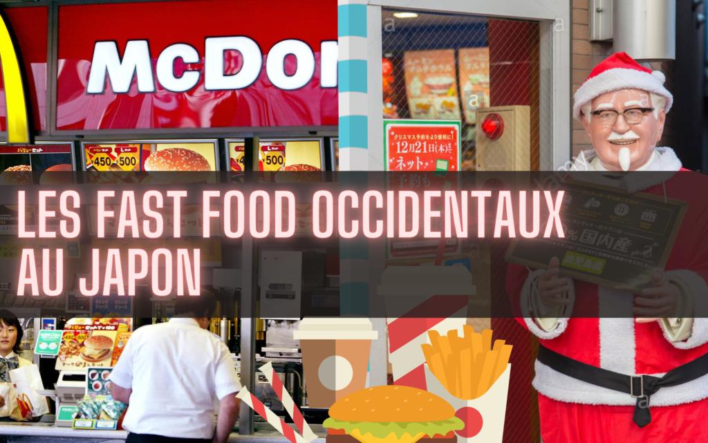 fast food occidentaux au Japon