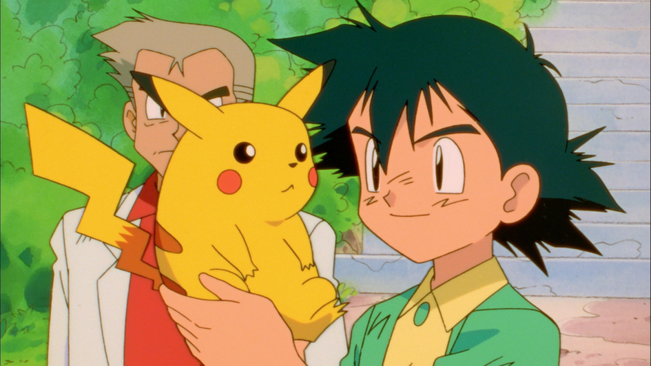 pokémon anime jeu sacha pikachu
