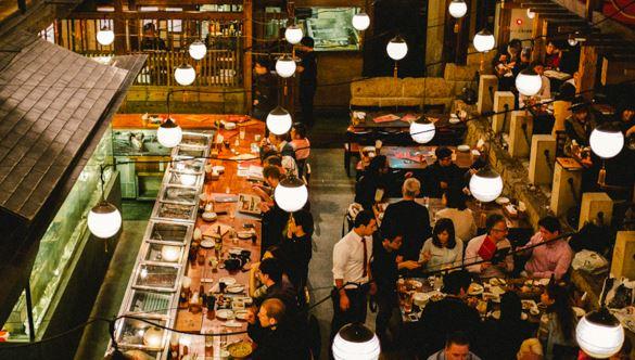 Gonpachi izakaya restaurant