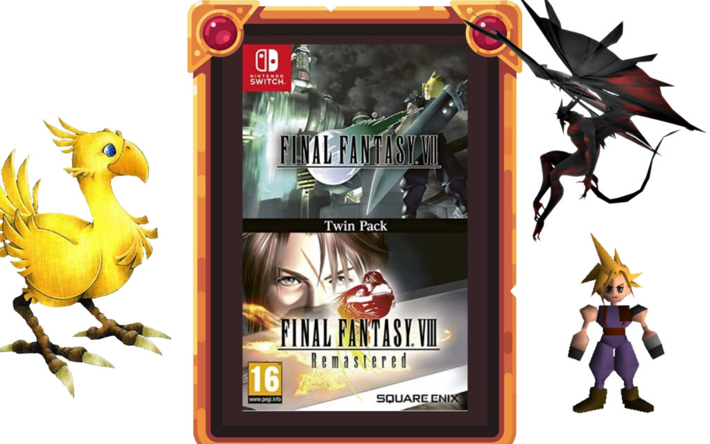 Final Fantasy VII et Final Fantasy VIII Remastered Nintendo Switch