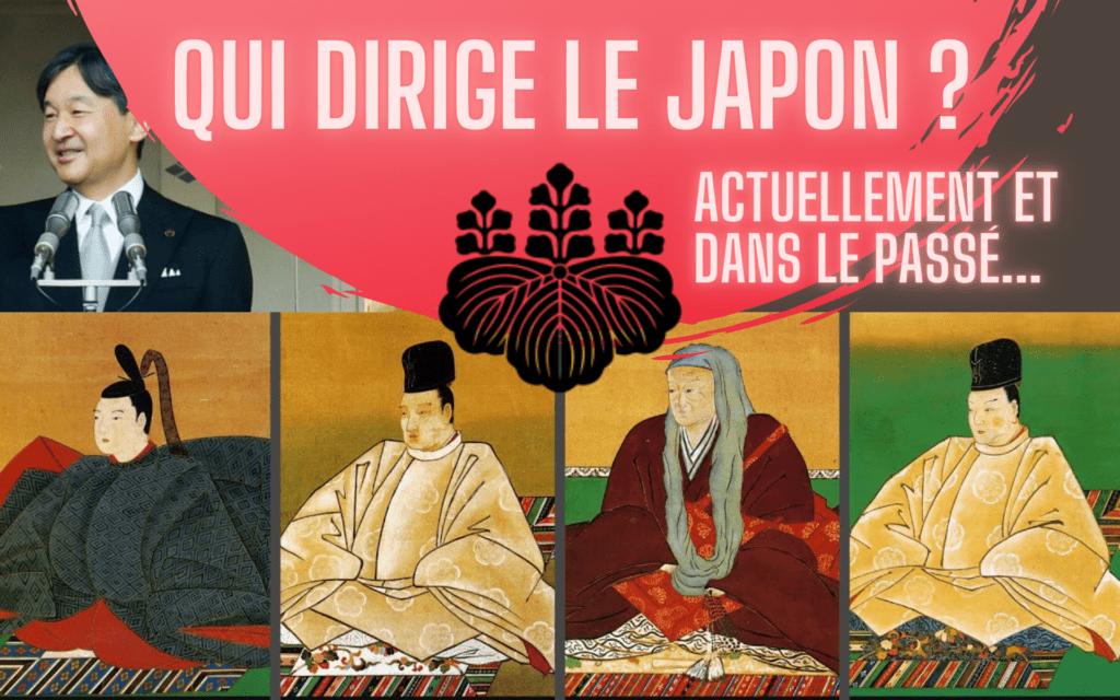 Qui dirige le Japon : actuellement et dans le passé...