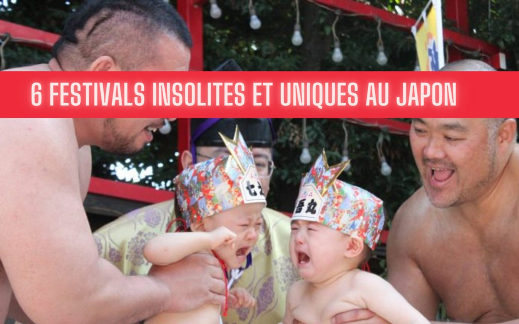 festivals insolites uniques au Japon