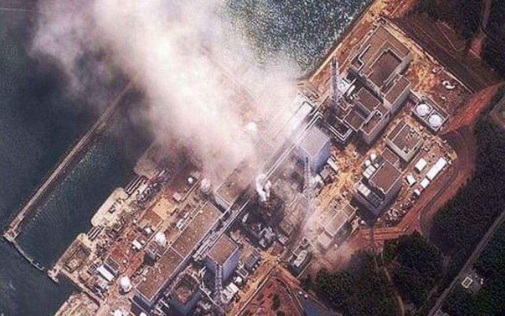 fukushima catastrophe vue aérienne