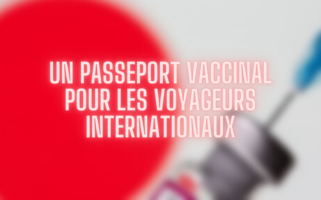 Japon passeport vaccinal pour les voyageurs internationaux