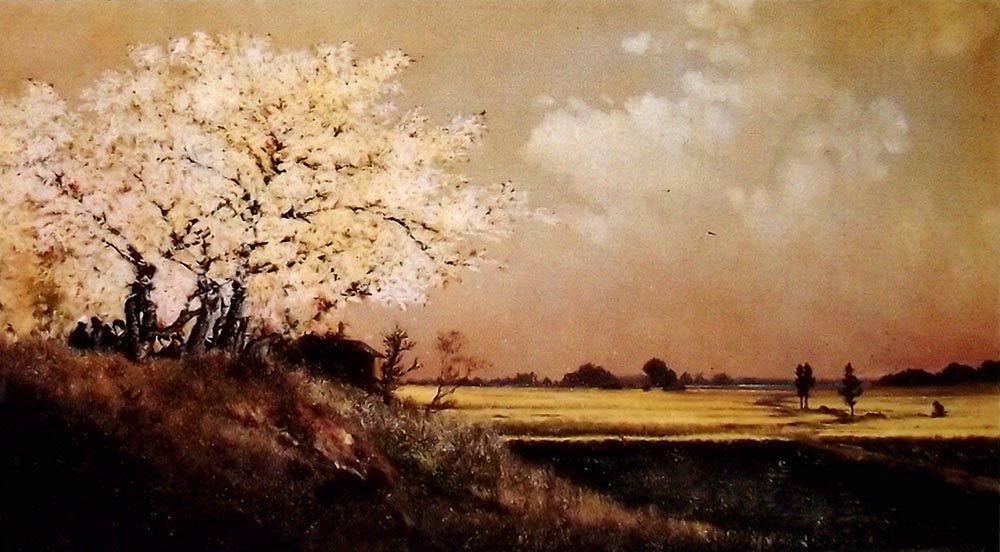 Histoire de la peinture occidentale au Japon