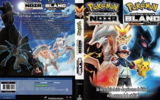 Pokémon le film  Noir  Victini Reshiram Blanc Zekrom gratuit dvd