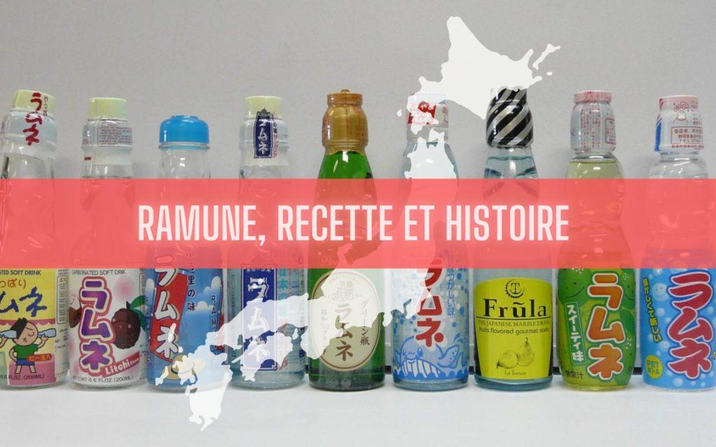Ramune facile et histoire de la limonade japonaise RECETTE