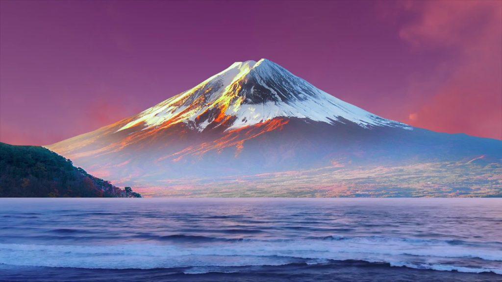 ambient japonaise mont fuji