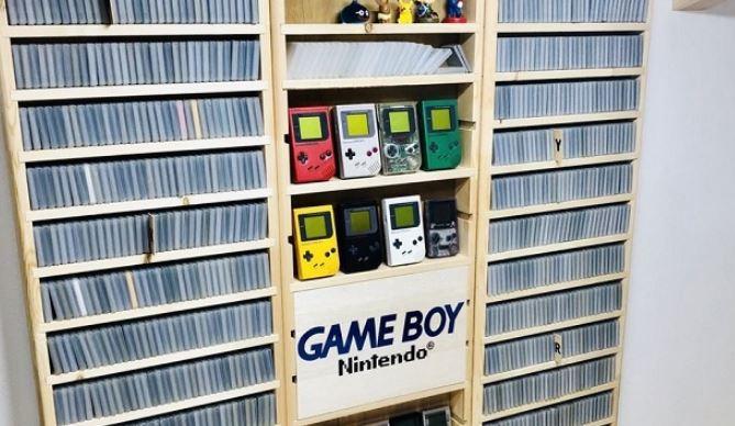 plus grande collection de jeux Game Boy marumi