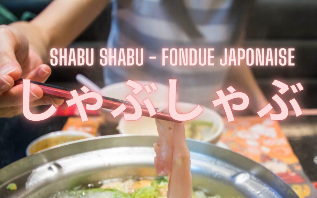 Guide du Shabu Shabu fondue japonaise