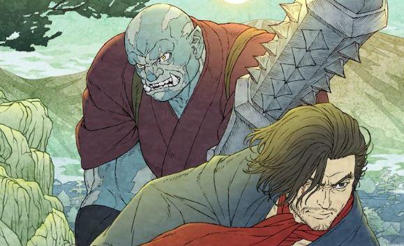 Bright Samurai Soul anime signé Netflix