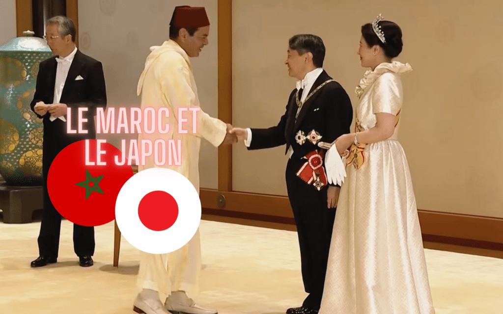 roi du maroc empereur japon