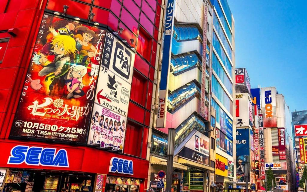 Comment expliquer la popularité des jeux vidéo au Japon sega