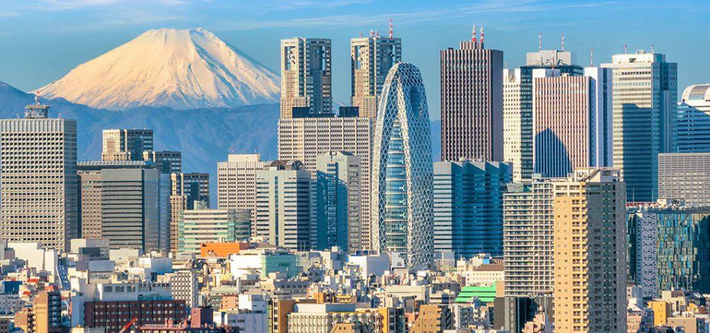 endroits à visiter au Japon et tokyo