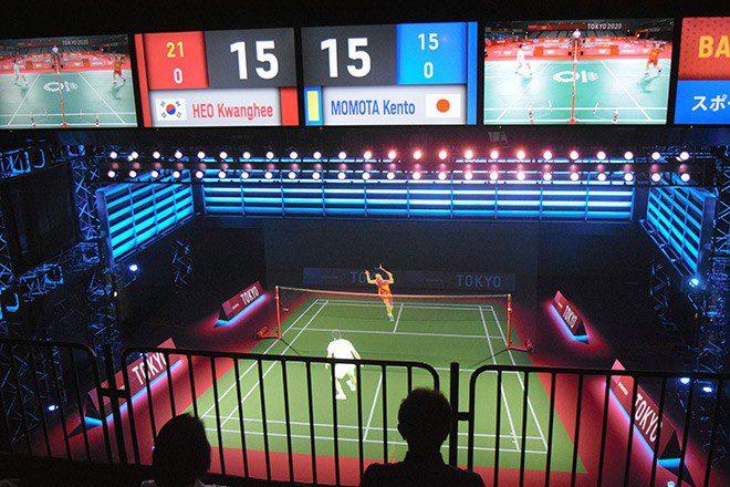 kiraki, écran 12K, les nouvelles technologies des Jeux olympiques de Tokyo 2021