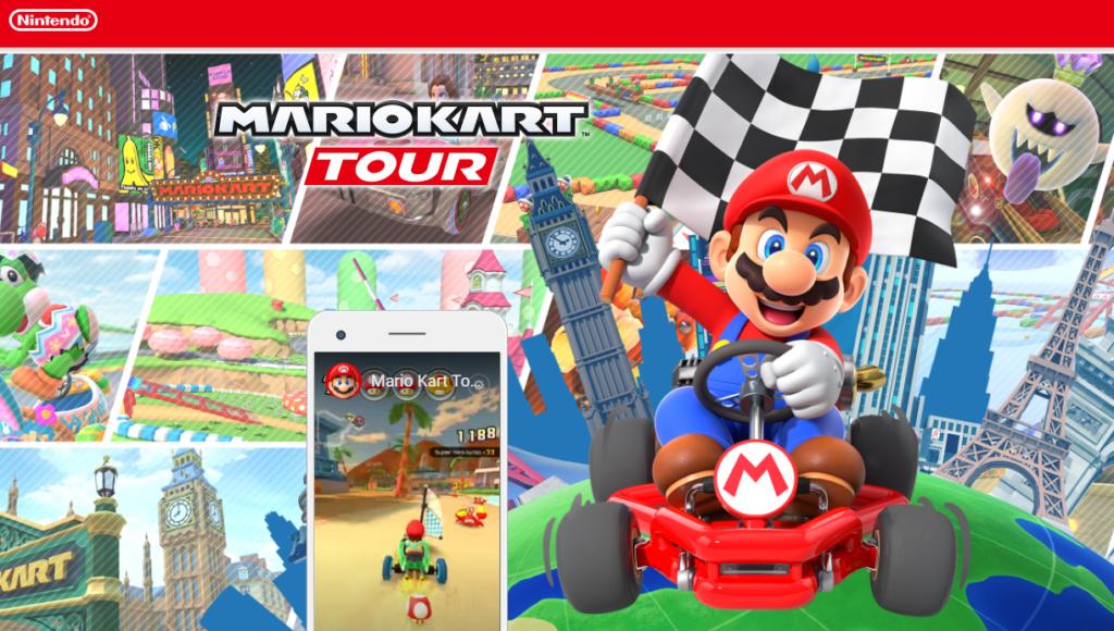 Mario Kart Tour cadeau