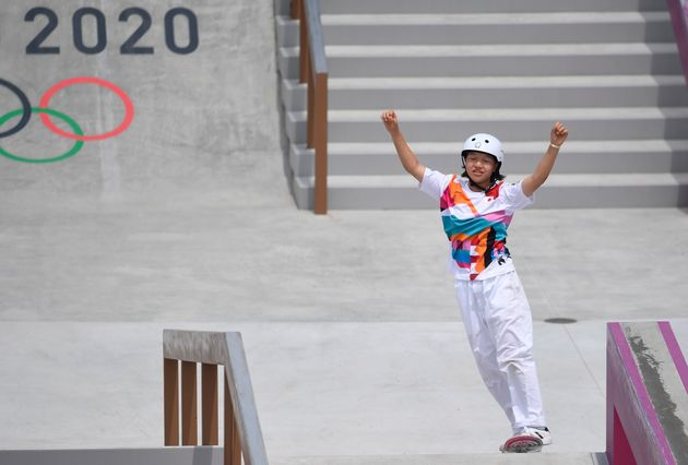 Qui est Momiji Nishiya ? podium des plus jeunes champions olympiques