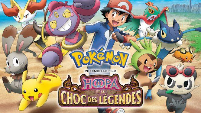 Pokémon, le film : Hoopa et le choc des légendes gratuit