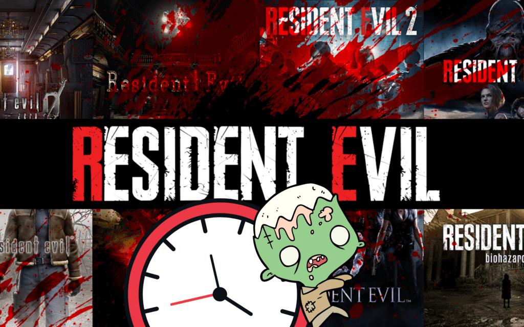 Resident Evil : Chronologie