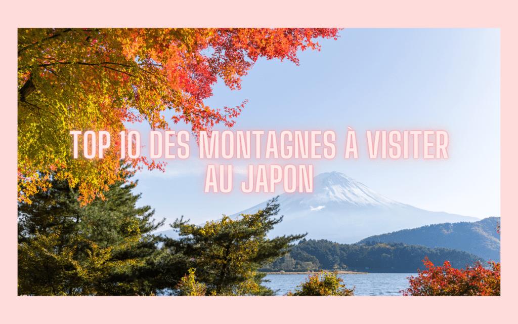 Top 10 montagnes au Japon