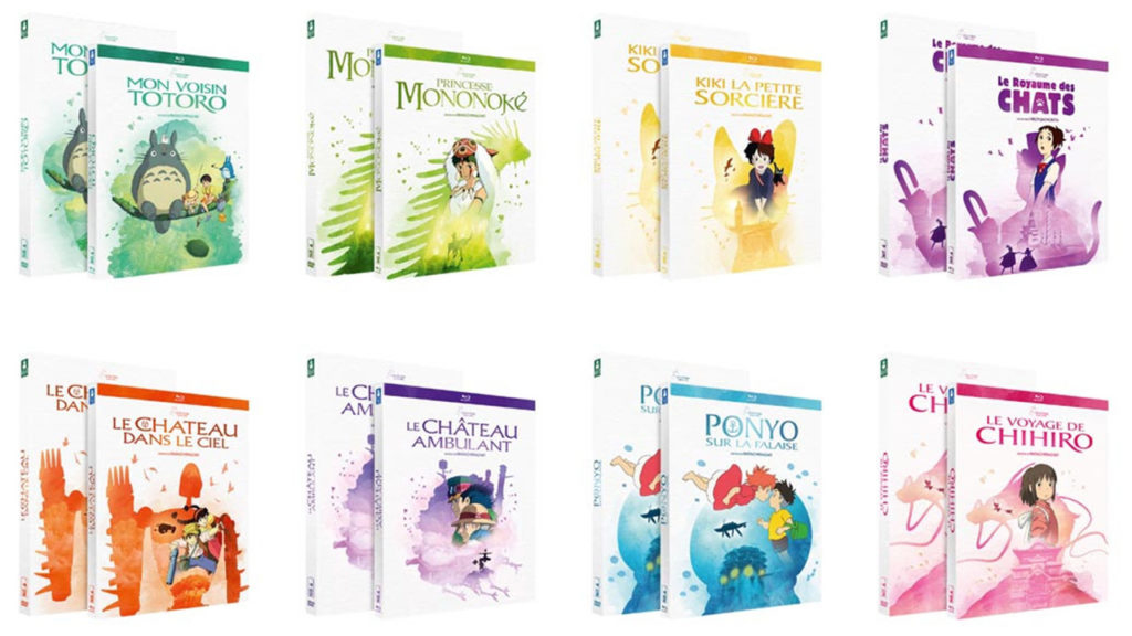 Blu-ray Ghibli achetés : le 3ème offert