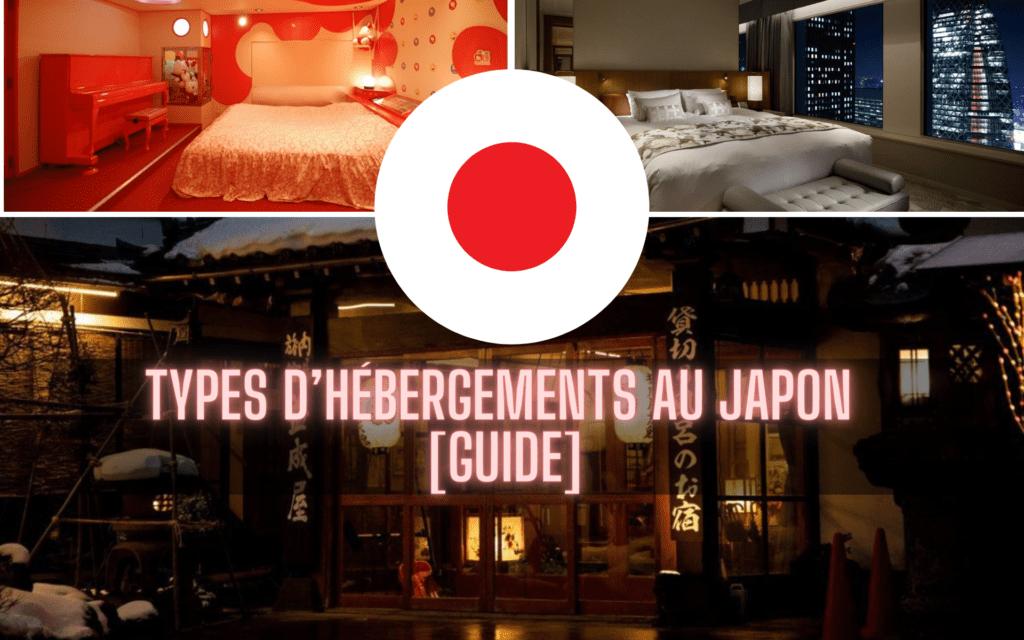 types d'hébergements au Japon