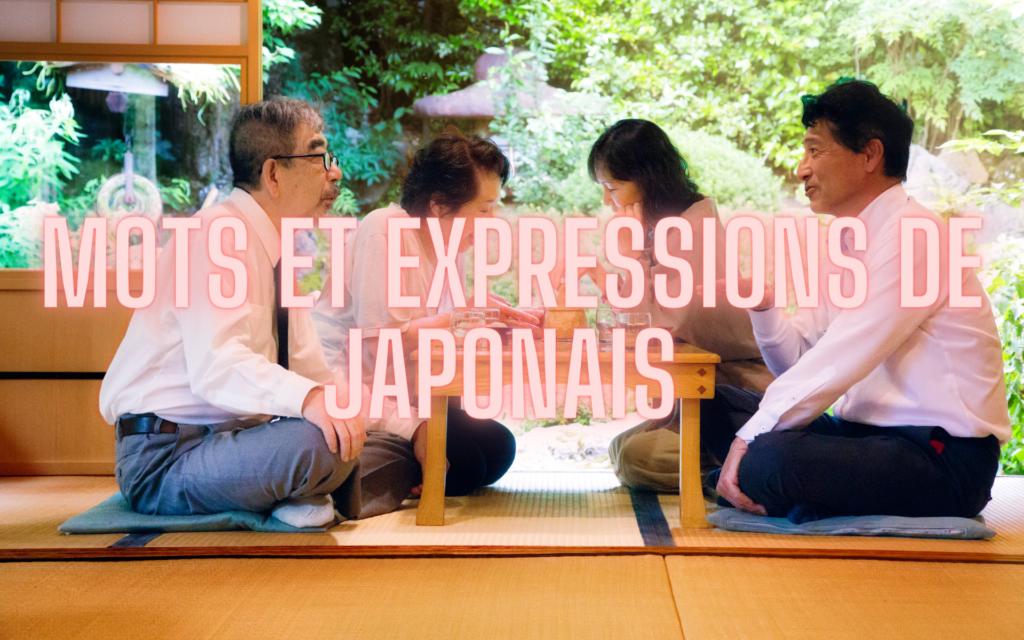 mots et expressions de japonais essentiels