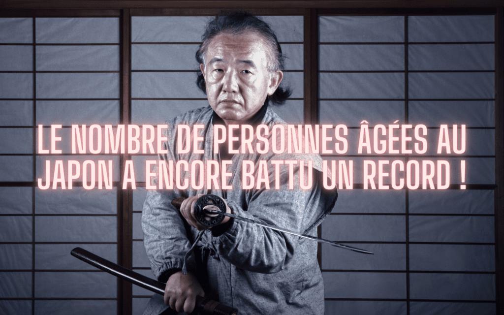 nombre de personnes âgées au Japon record