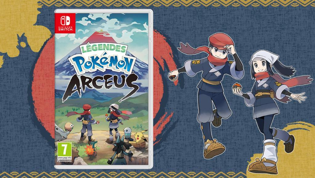 Légendes Pokémon : Arceus Nintendo Switch et Steel book