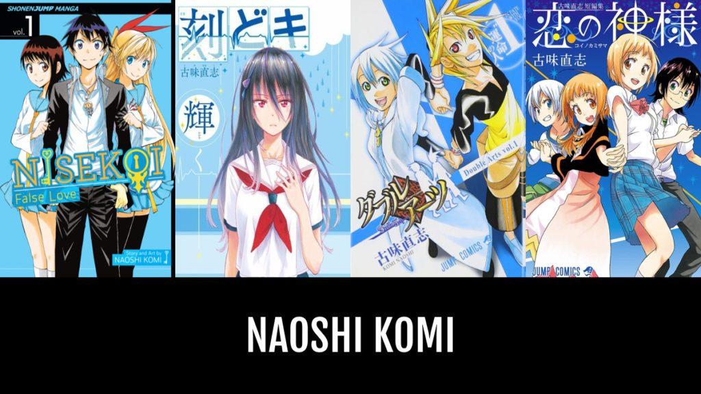 Komi Naoshi biographie