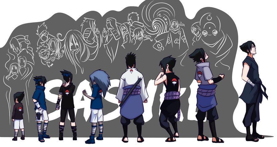 Sasuke Uchiha histoire et anecdotes