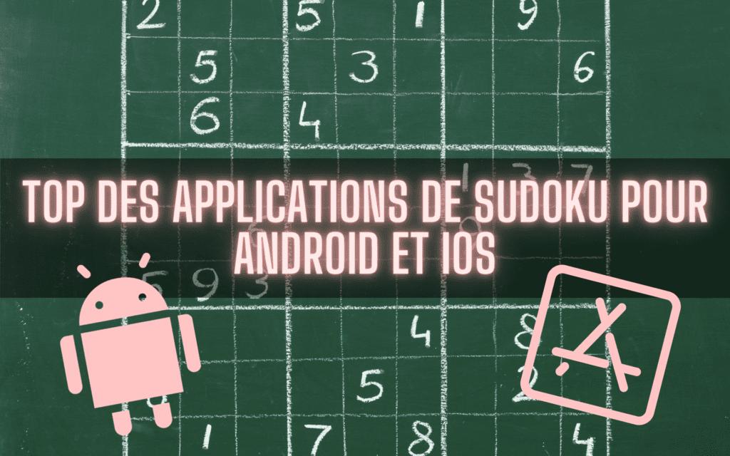 Top des Sudoku pour Android et iOS